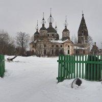 Село Остров :: Николай Спиридонов
