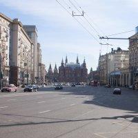 Москва, ул.Тверская :: Елена Назарова