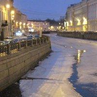 Река Мойка. Март :: Маера Урусова