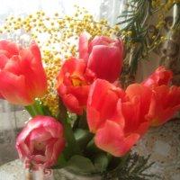 Весенний букетик :: Елена Семигина