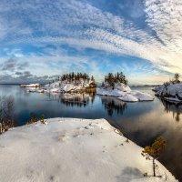 Отражение на глади льда. :: Фёдор. Лашков