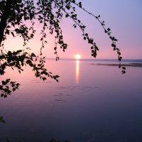 закат на отрадном :: геннадий щербак