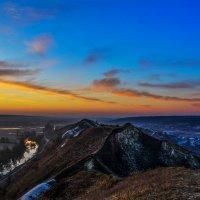 Крапивенское городище на рассвете :: ALEXANDR L