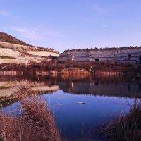 озеро близ Инкермана :: Андрей Козлов