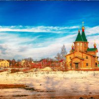 Церковь у г.Кстово :: Андрей Иванов