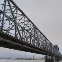 Мост через Северную Двину. Архангельск. :: Михаил Поскотинов