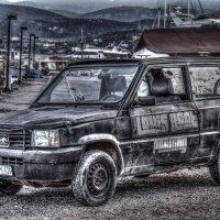 Постапокалиптический автомобиль :: Андрей Неуймин
