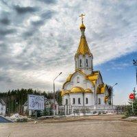 Храм в Катыни :: Милешкин Владимир Алексеевич