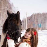 Юлия и Пегас :: Ольга