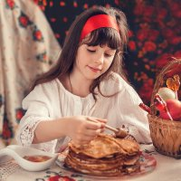 Масленица-чудесница :: Наталья Кирсанова