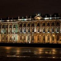 Зимний дворец ночью :: Светлана Печорина