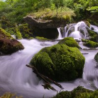 Небольшой водопад в Черногории :: Ирина Бруй