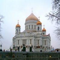 Кафедральный Соборный храм Христа Спасителя (собор Рождества Христова) в Москве :: Денис Кораблёв