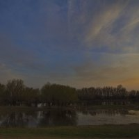 Закат в разливе :: M Marikfoto