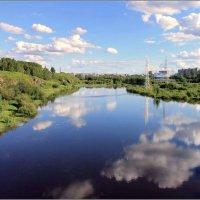 в реку смотрятся :: Сергей Савич.
