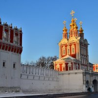 Храм Спаса Преображения над северными воротами(Преображенская надвратная церковь) :: Денис Змеев