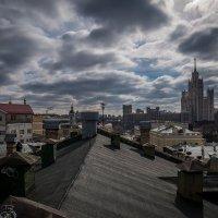 Весна, март, московские крыши... :: Наталья Rosenwasser