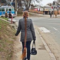 девица-краса-длинная коса :: юрий иванов