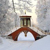 Крестовый мост зимой :: Сергей