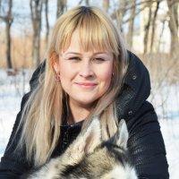 Хаски любят ласки) :: Вероника Подрезова