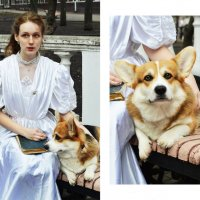 Леди с собачкой :: Анастасия Скляр