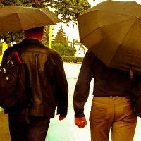 С понтом под зонтом. :: Валерий Гудков