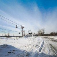Канатная дорога... :: Борис Кононов