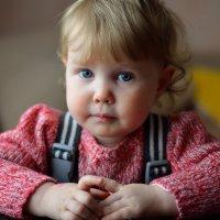 Портрет маленькой девочки :: Anatolyi Usynin