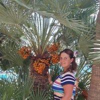 Дама с пальмой :: Kasatkin Vladislav