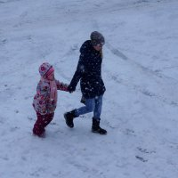 Снегопад :: Алексей Golovchenko