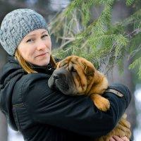 Дама с собачкой. :: Михаил Шпигельман
