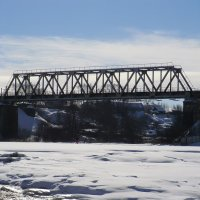 Великие Луки. Мост через Ловать... :: Владимир Павлов
