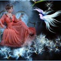 «Я королева темноты в ночи рождённая поэтом ...» :: vitalsi Зайцев
