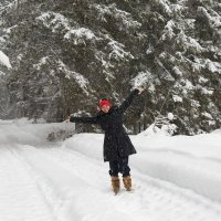 Открытие зимнего сезона в марте :О) :: Юрий Куко'