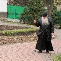 дороги жизни. Монах просто проходил мимо :: elena manas