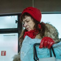 Дама в автобусе :: Галина Щербакова