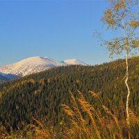 Сентябрь в горах, а зима уж торопится :: Сергей Чиняев