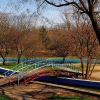мостик в парке :: Александр Корчемный