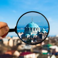 Город под микроскопом :: Евгений Мищенко