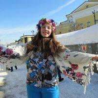 девушка Весна :: Надежда Ерыкалина