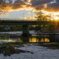 Вечер на рекой Руза :: Андрей Куприянов