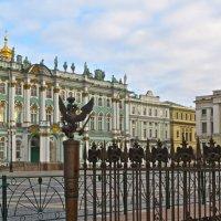взгляд на Дворцовую площадь :: Елена