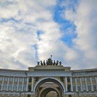колесница под облаками :: Елена