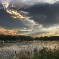 Вид на Иртыш, Парк зелёный остров, Омск :: Алина Репко