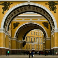 Триумфальная арка генштаба :: Александр Киприянов