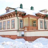 Старинный дом в Архангельске :: Светлана Ку