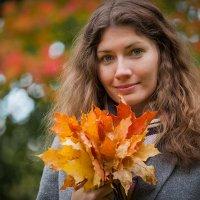 Осенние тона, портрет :: Александр Орлов
