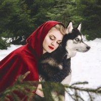 Красная шапочка :: Виктория Андреева