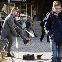 уличный жонглер :: VL
