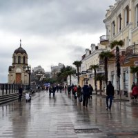 В Ялте сегодня дождь... :: Ольга Голубева